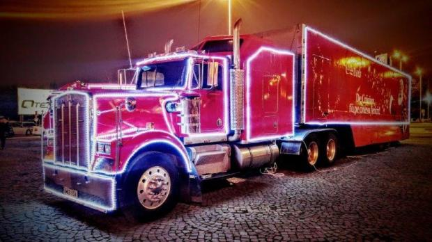 camion cocacola